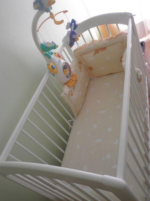 Une chambre pour bébé quasi entièrement récup' et customisée!