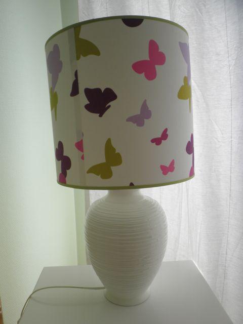 Cette lampe était entièrement jaune à l'origine...