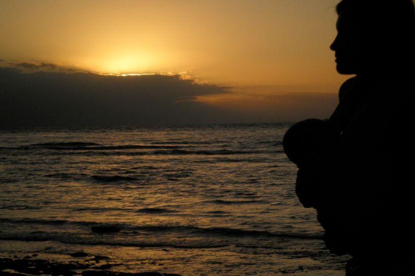 Joli coucher de soleil réunionnais