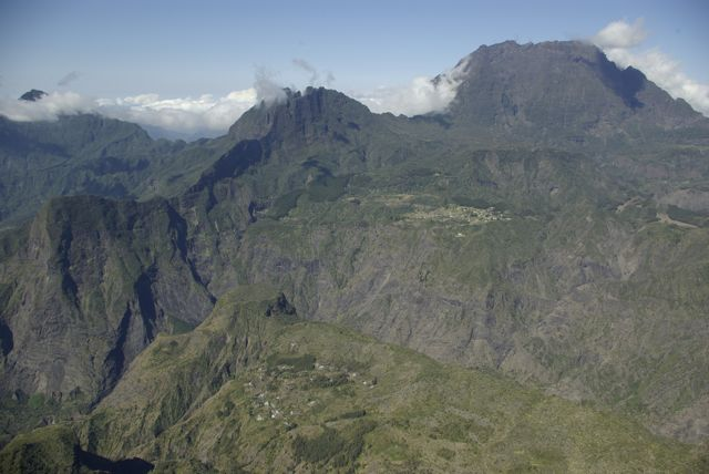 Piton Maido de l'ile de la Réunion