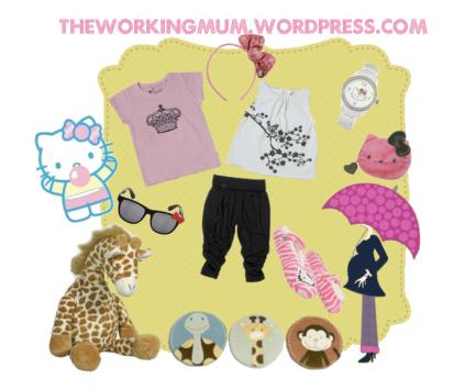 Un set pour bébé, Working mum s'amuse sur Polyvore