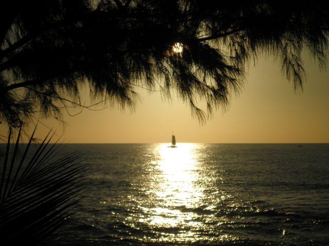 Les couchers de soleil à la Réunion sont plus beau l'hiver