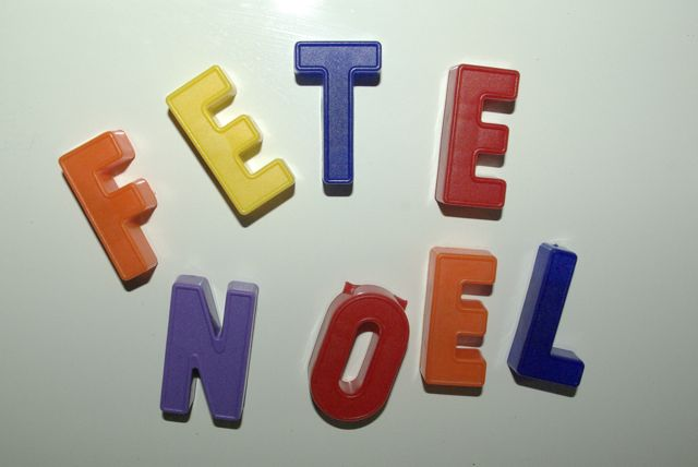 Je suis fan des lettres magnétiques