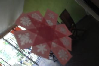 Autre déco de Noël sur les vitres
