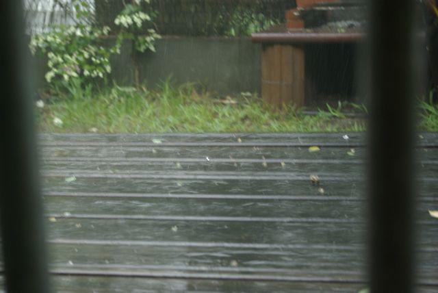 Il pleut...