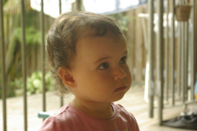 Ma fille à 20 mois, une coupe de cheveux de bébé