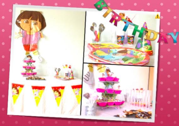 anniversaire-dora-deco-table