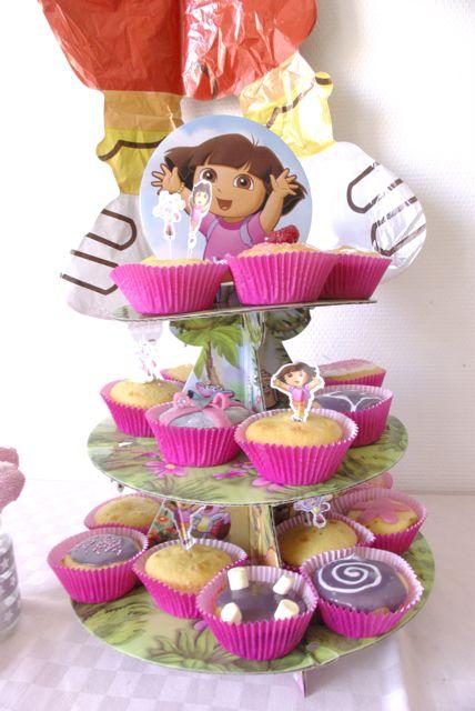anniversairedeuxansdora-présentoir à cupcakes