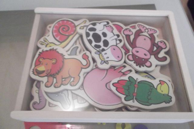 jouetsenbois-magnets pour le frigo
