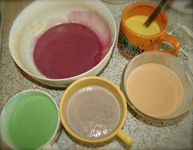 pate-gateau-yaourt-colore