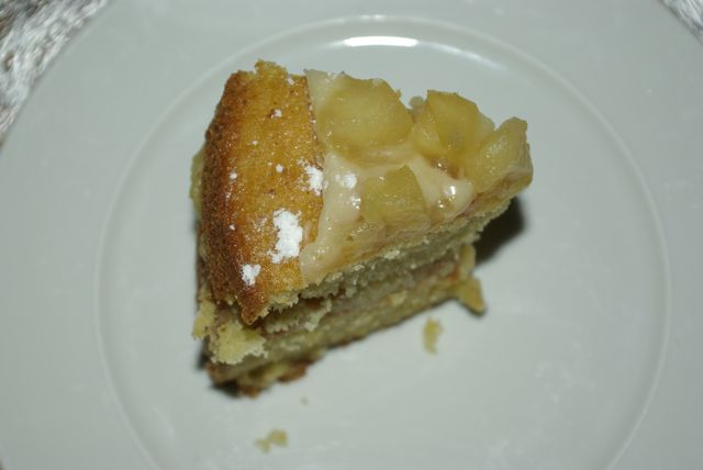 layer cake aux pommes