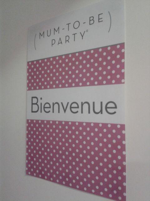 bienvenu à la mumtobeparty