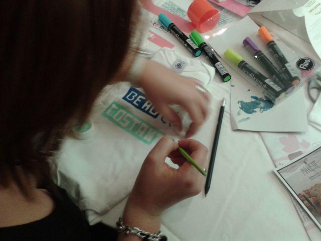 mumtobeparty, atelier DIY de body personnalisé