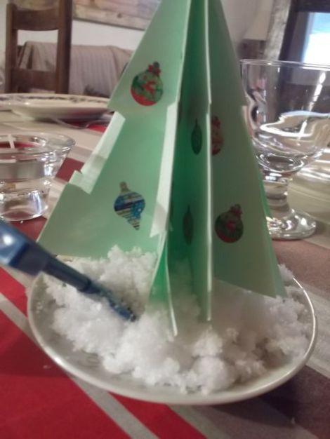 DIY sapin de Noël en origami