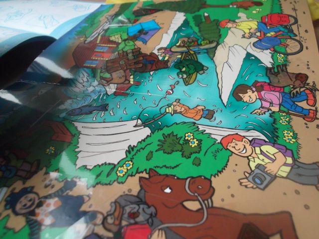 kit-enfant-airtransat jeu des magic stickers