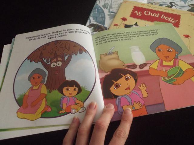 Un livre de Dora l'exploratrice