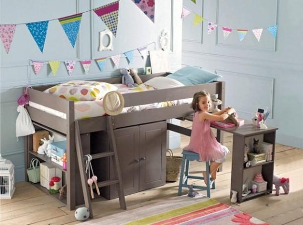 Choisir son premier lit de grande personne working girl to working mum - Lit combine bureau fille ...