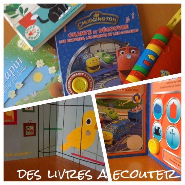 livres-sonores-section pour enfant