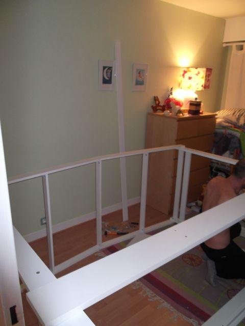 Voici son lit de grande (achat du lit cabane d\'Alinea) – Working ...