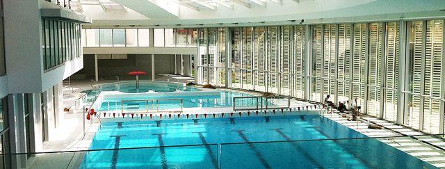 Nager et s amuser sous le d me de la piscine de vincennes for Piscine vincennes