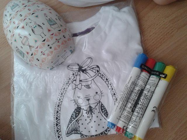 sergentmajor-paques-tee-shirt à colorier