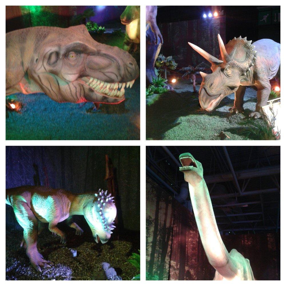 expo dinosaures ère de glace