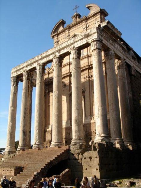 visiter rome monuments antiques