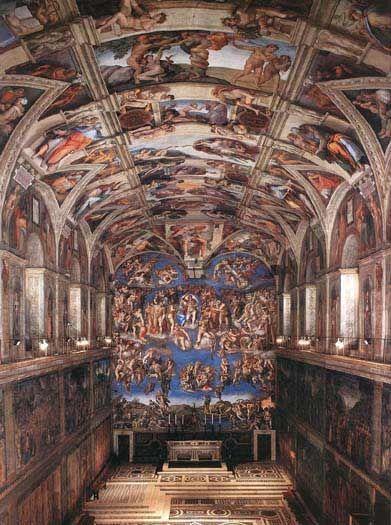 visiter rome et le vatican chapelle sixtine