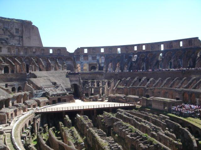 visiter rome monuments colisée