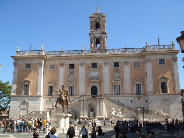 visiter rome monuments musée du capitole
