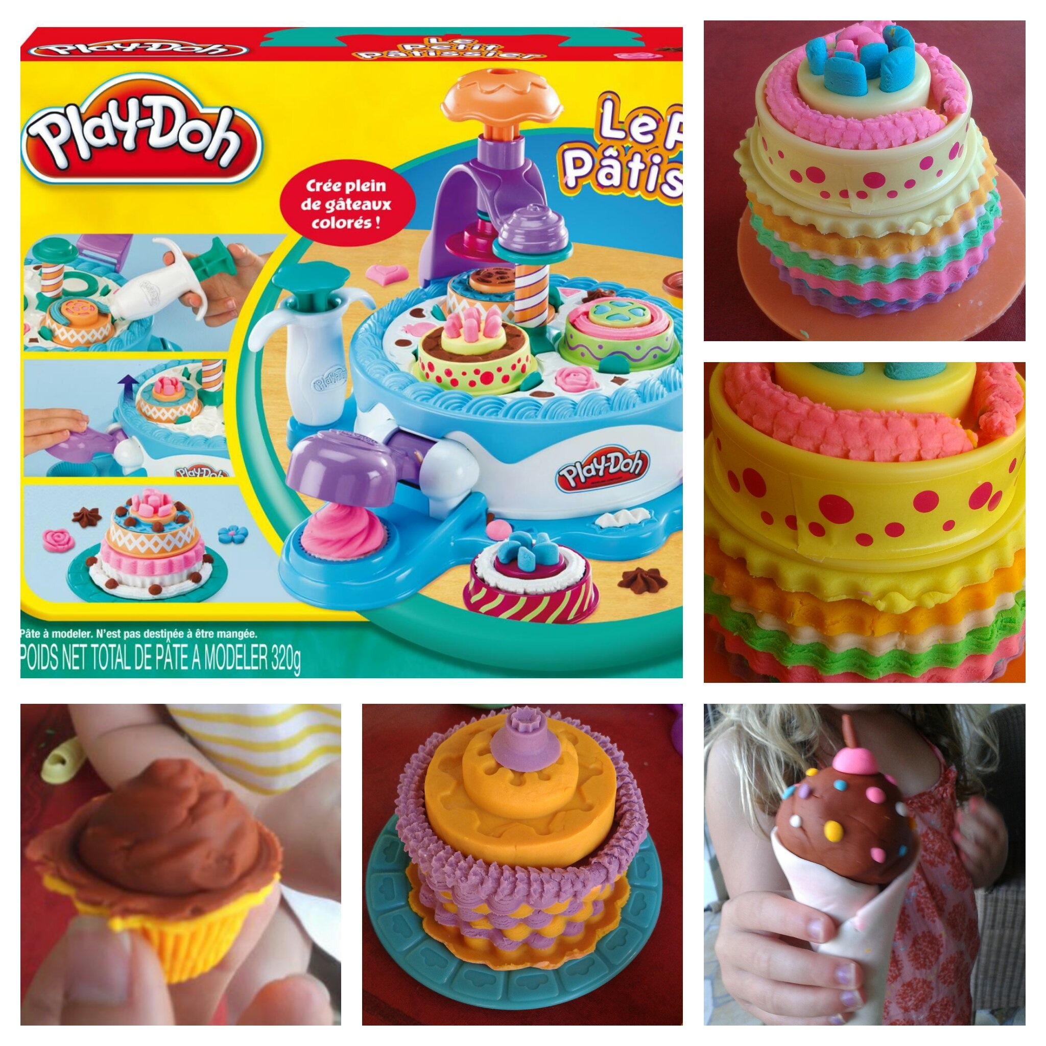 d 233 couverte de l 233 t 233 le petit patissier de play doh working to working