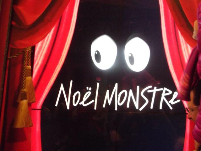 vitrines-noel-paris-2014-galeries lafayettes monstres et compagnie